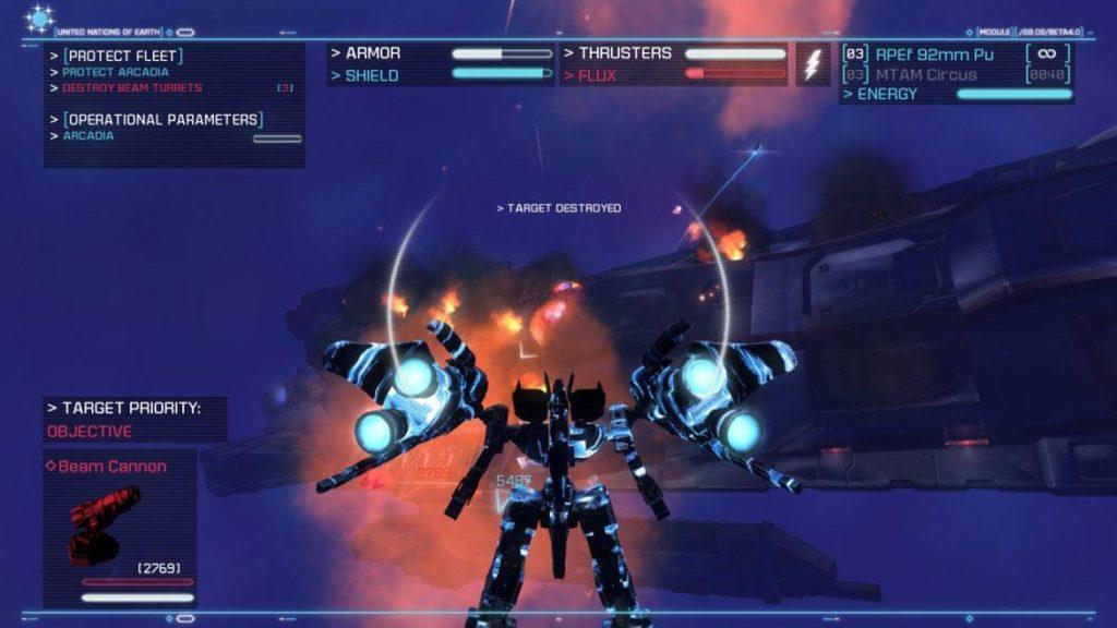 Обзор: Strike Suit Zero: Director's Cut - Тленное бытие космического вояки 14