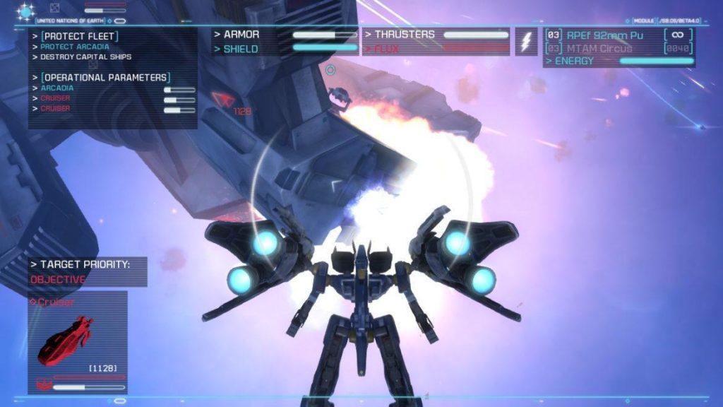 Обзор: Strike Suit Zero: Director's Cut - Тленное бытие космического вояки 15