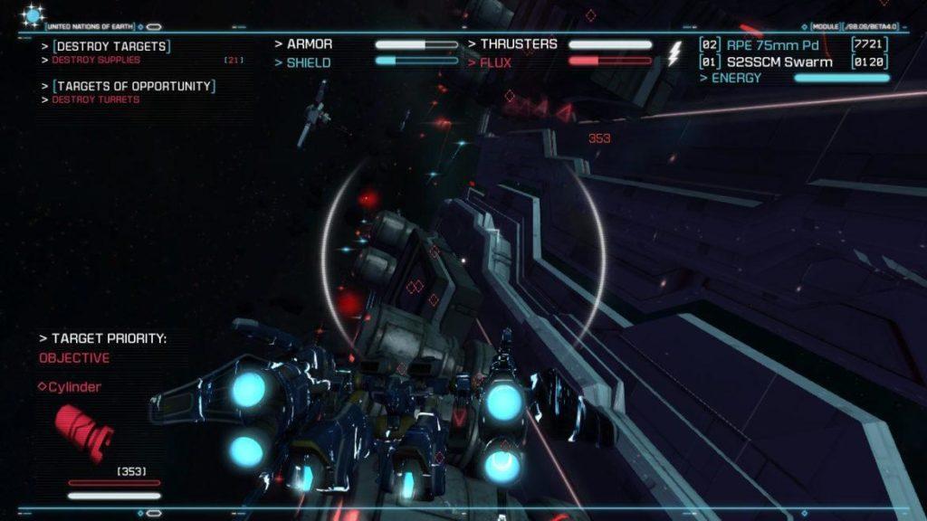 Обзор: Strike Suit Zero: Director's Cut - Тленное бытие космического вояки 16