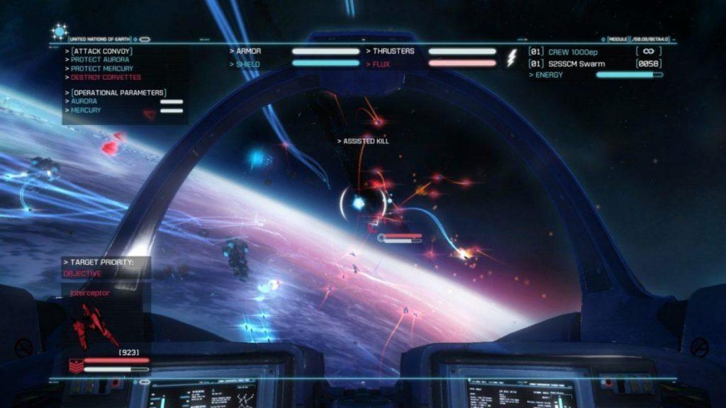 Обзор: Strike Suit Zero: Director's Cut - Тленное бытие космического вояки 17