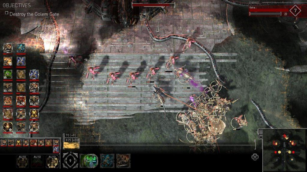 Обзор: Golem Gates - Карта, карте рознь 6