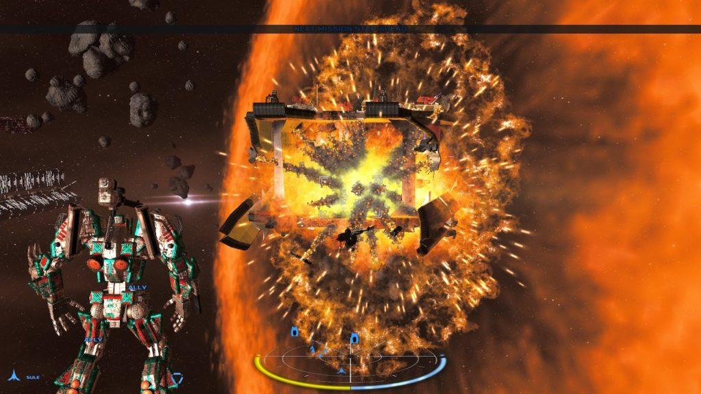 Обзор: War Tech Fighters - Механическое откровение 25