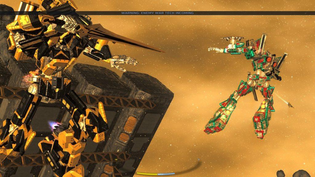 Обзор: War Tech Fighters - Механическое откровение 37