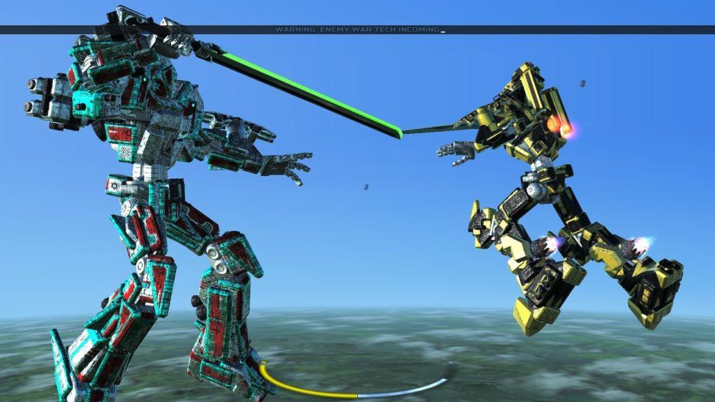 Обзор: War Tech Fighters - Механическое откровение 39