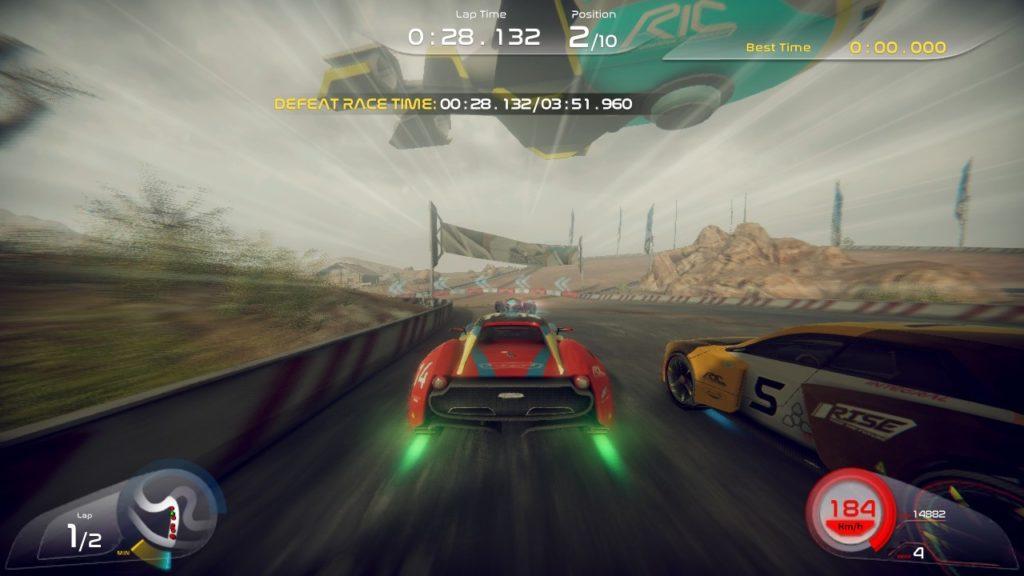 Обзор: Rise: Race The Future – Наконец-то, аркадная годнота 3