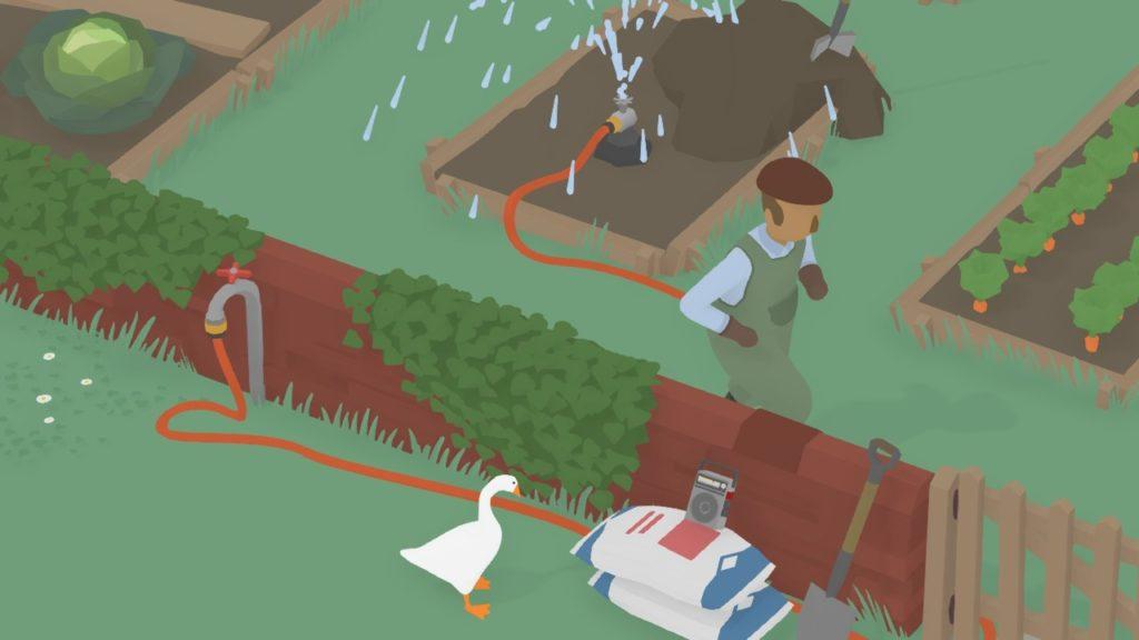 Обзор: Untitled Goose Game - Домашний питомец Снейка 1