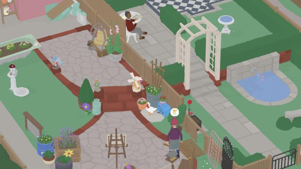 Обзор: Untitled Goose Game - Домашний питомец Снейка 10