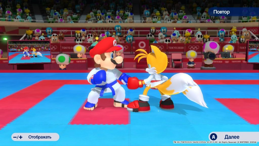 Обзор: Марио и Соник на Олимпийских играх 2020 в Токио – Фитнес для ленивых 10