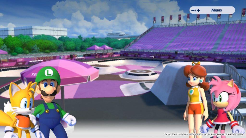 Обзор: Марио и Соник на Олимпийских играх 2020 в Токио – Фитнес для ленивых 5