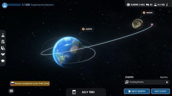 Станьте директором космического агентства в Mars Horizon на Nintendo Switch 2
