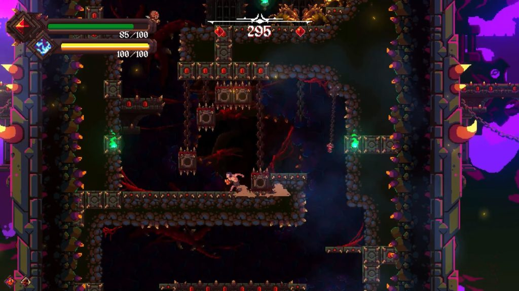 Прямиком из Ада - вертикальный платформер Rising Hell выйдет на Nintendo Switch 1