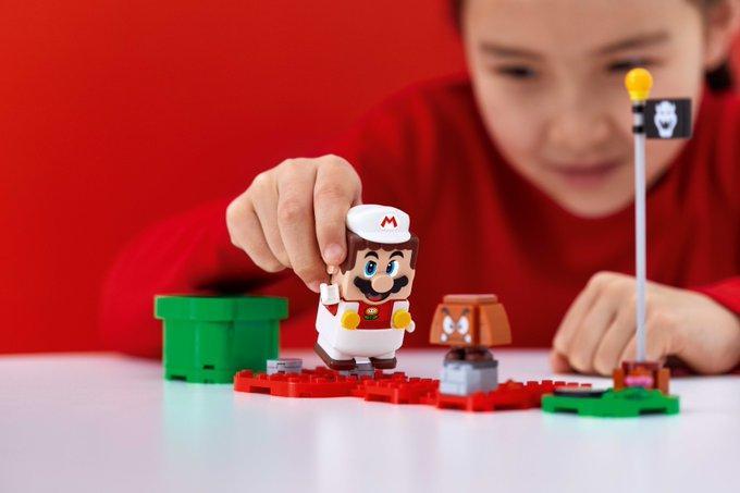 LEGO анонсировала дополнительный набор Power-Up Packs для LEGO Super Mario 1
