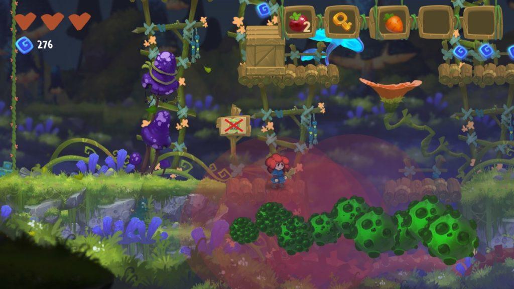 Феи, грибы и рыжуля - анонс платформера Potata: Fairy Flower 2