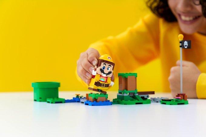 LEGO анонсировала дополнительный набор Power-Up Packs для LEGO Super Mario 4