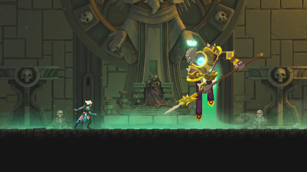 Странный мир, море оружия и женщина в главной роли - анонс экшен-платформера Foregone для Nintendo Switch 1