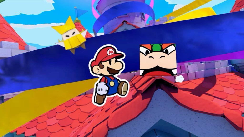 Paper Mario: The Origami King — скриншоты, размер игры и демонстрация боевой системы 11
