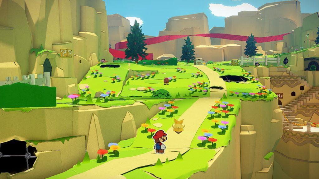 Paper Mario: The Origami King — скриншоты, размер игры и демонстрация боевой системы 1