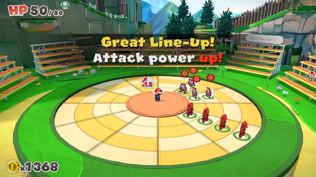 Paper Mario: The Origami King — скриншоты, размер игры и демонстрация боевой системы 6