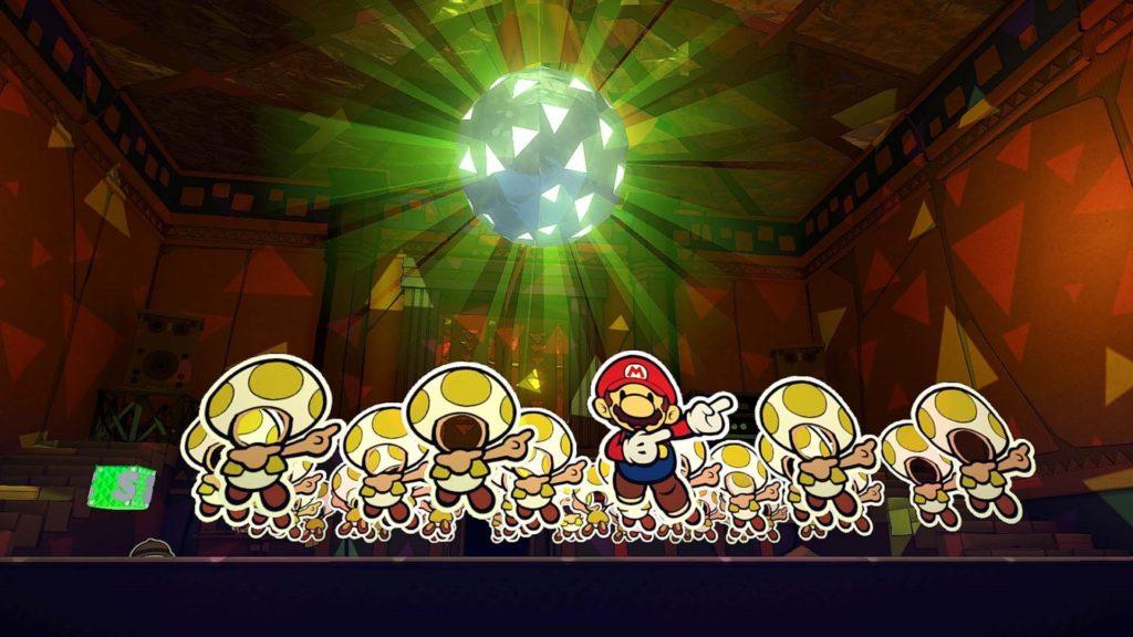 Paper Mario: The Origami King — скриншоты, размер игры и демонстрация боевой системы 7