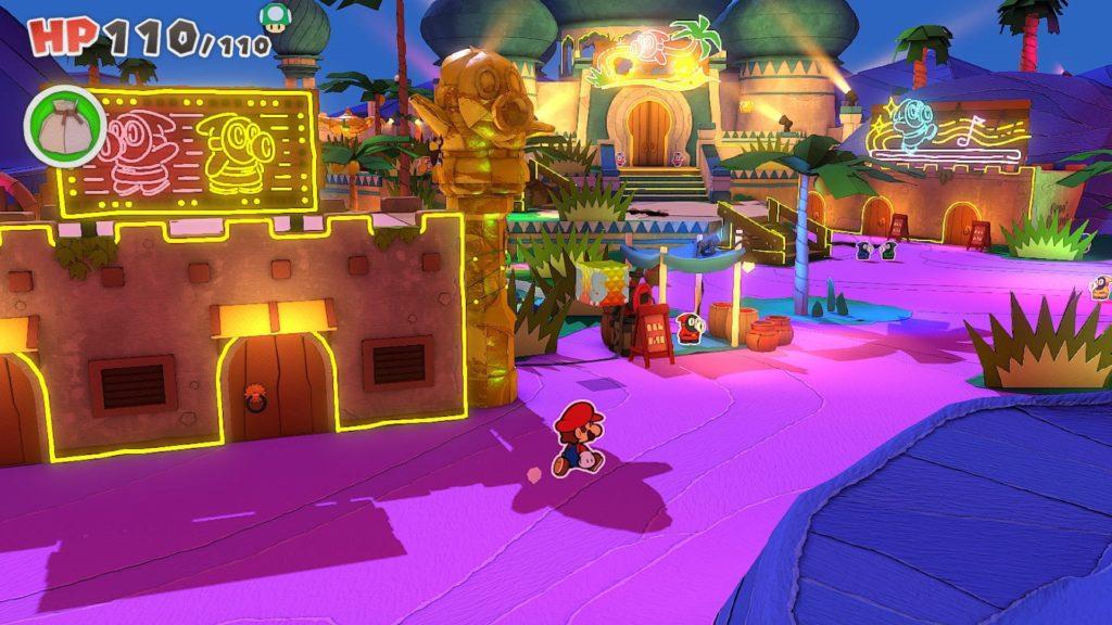 Paper Mario: The Origami King — скриншоты, размер игры и демонстрация боевой системы 8