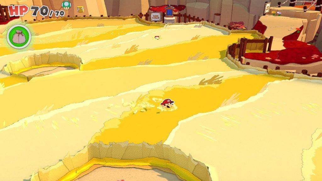 Paper Mario: The Origami King — скриншоты, размер игры и демонстрация боевой системы 9