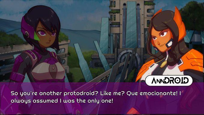 Protodroid: DeLTA — вдохновленный Megaman X платформер находится в разработке для Nintendo Switch 1
