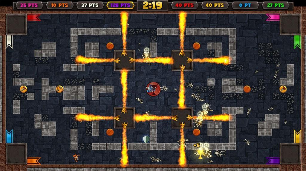Knight Squad - одноконопочная игра для вечеринок готовится к релизу на Switch 2