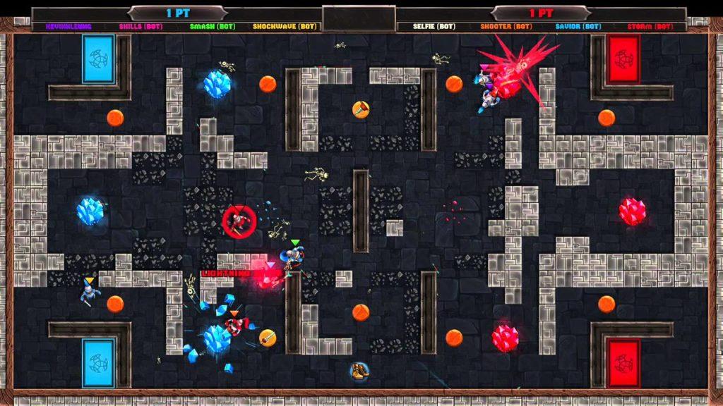 Knight Squad - одноконопочная игра для вечеринок готовится к релизу на Switch 3
