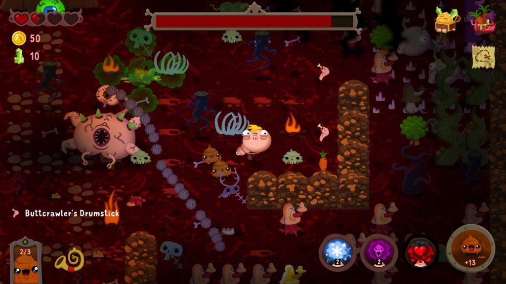 Poopdie - фекальный dungeon crawler анонсирован для Nintendo Switch 2