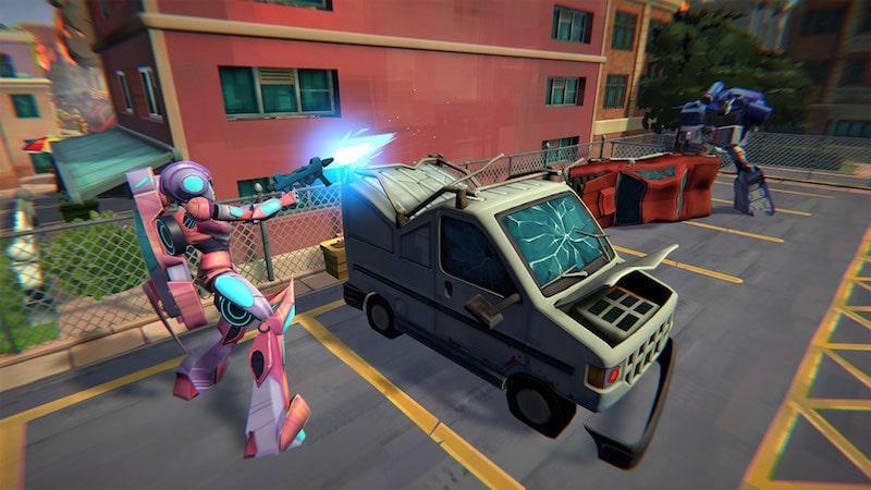 Transformers: Battlegrounds анонсирована для Nintendo Switch 1