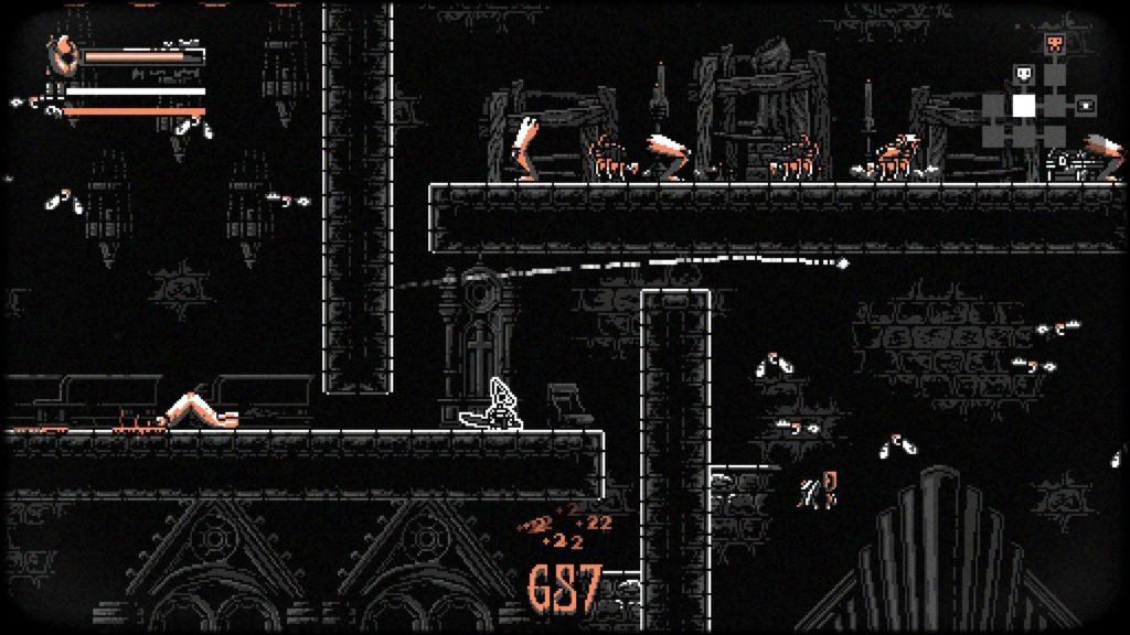 Плоть, кровь и рогалик - Nongunz: Doppelganger Edition анонсирован для Nintendo Switch 3
