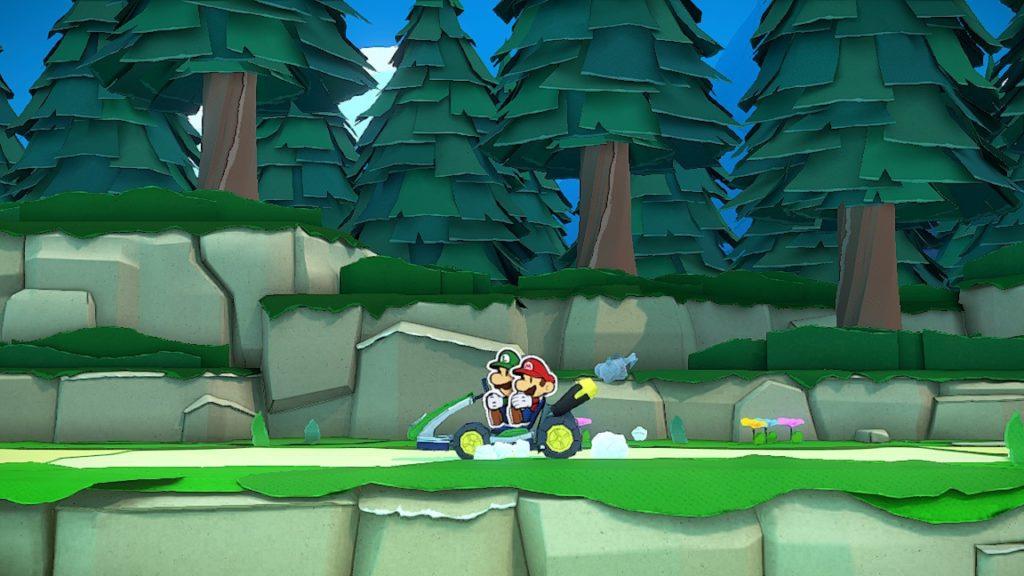 Обзор: Paper Mario: The Origami King - Бумажный переворот 1