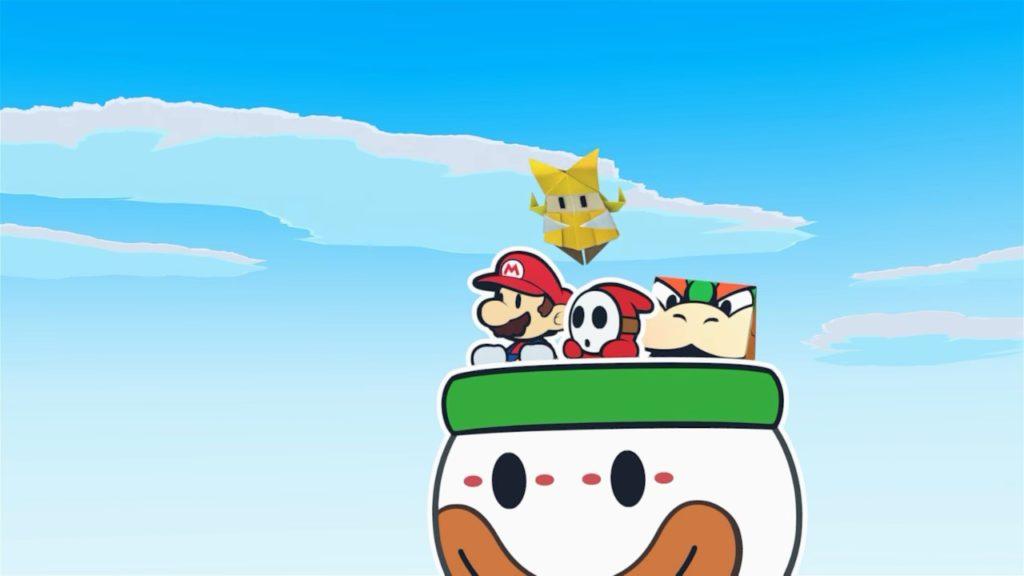 Обзор: Paper Mario: The Origami King - Бумажный переворот 6