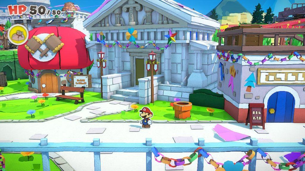 Обзор: Paper Mario: The Origami King - Бумажный переворот 9