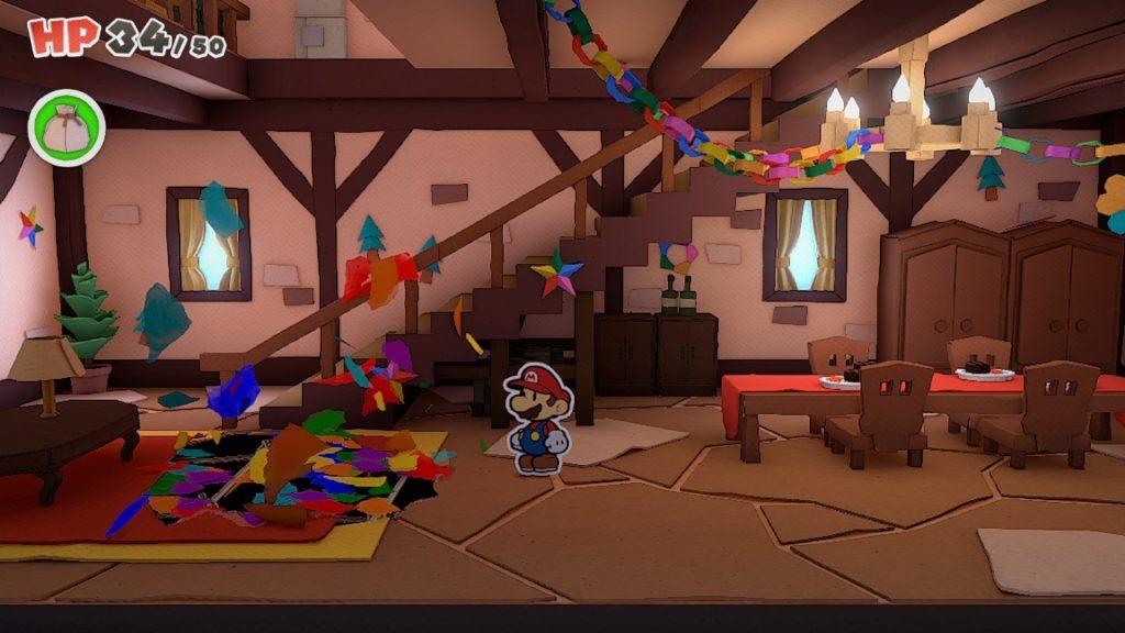 Обзор: Paper Mario: The Origami King - Бумажный переворот 10