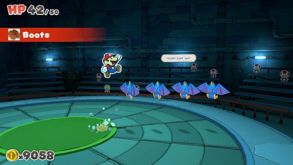 Обзор: Paper Mario: The Origami King - Бумажный переворот 17