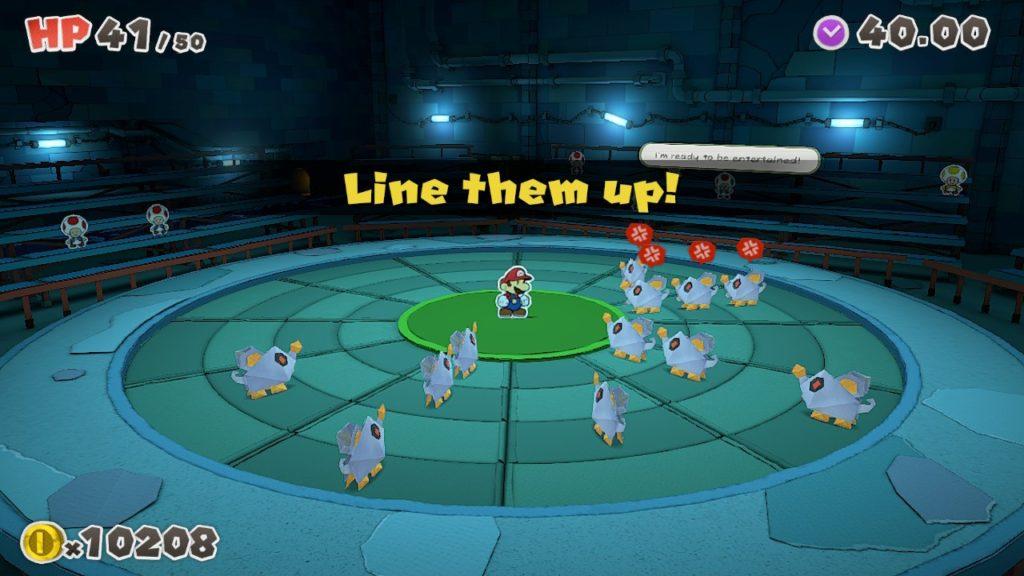 Обзор: Paper Mario: The Origami King - Бумажный переворот 12