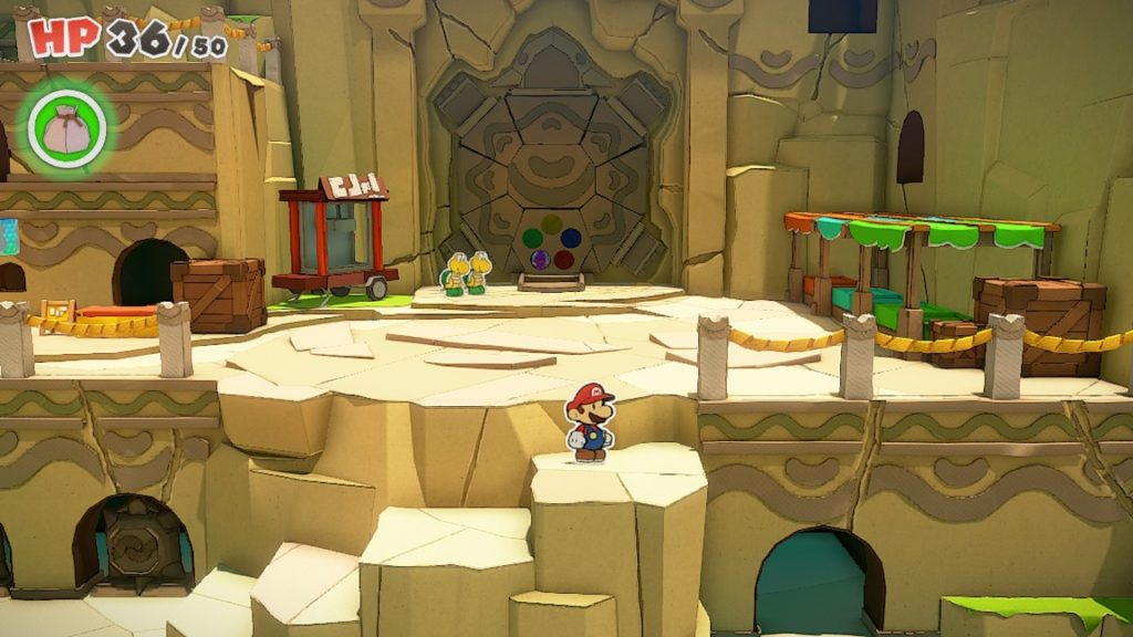 Обзор: Paper Mario: The Origami King - Бумажный переворот 13