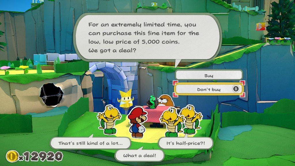 Обзор: Paper Mario: The Origami King - Бумажный переворот 14