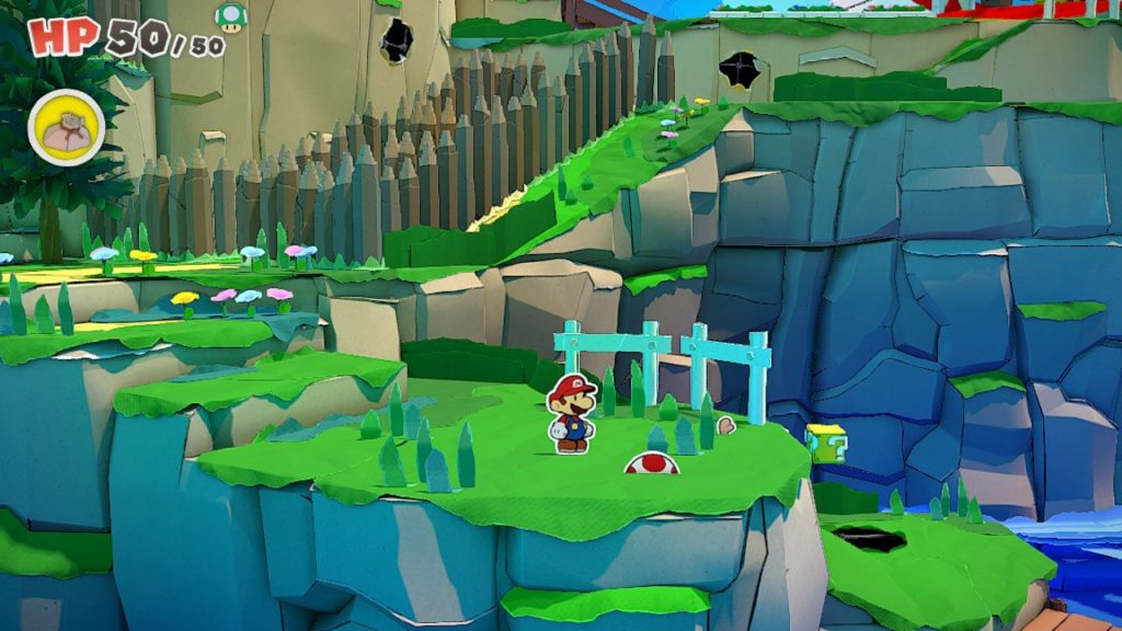 Обзор: Paper Mario: The Origami King - Бумажный переворот 15