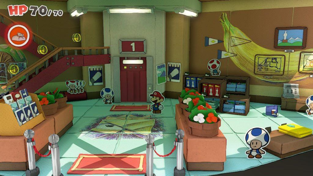 Обзор: Paper Mario: The Origami King - Бумажный переворот 22
