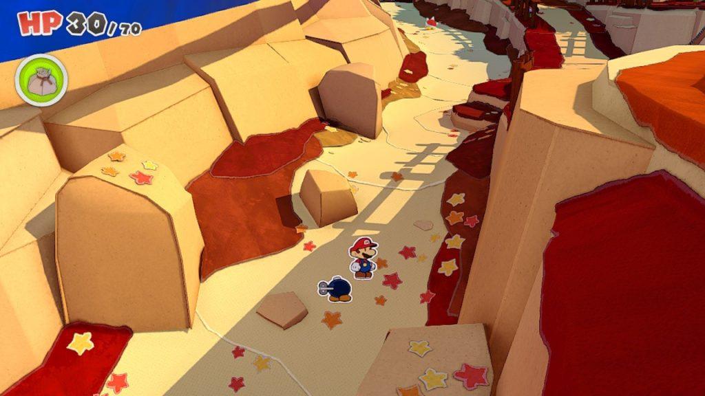 Обзор: Paper Mario: The Origami King - Бумажный переворот 24