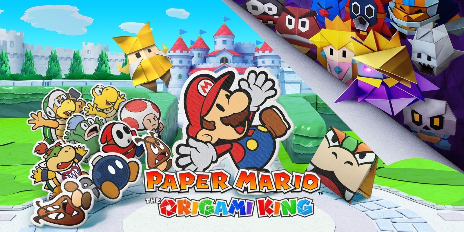 Обзор: Paper Mario: The Origami King - Бумажный переворот 29