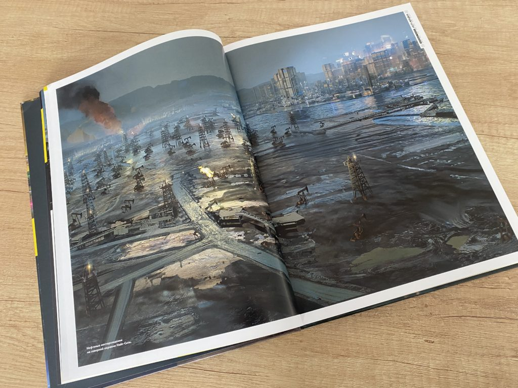 Обзор артбука Cyberpunk 2077 - Найт-Сити и его окрестности 8