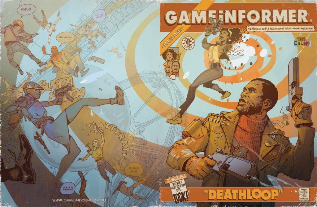 Deathloop станет главной темой нового номера GameInformer 1