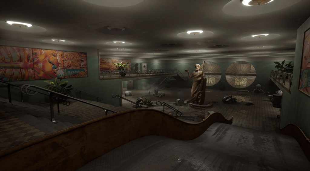 """Главный герой П-3 и робот """"Беляш"""" - в сеть слили пак скриншотов из Atomic Heart 14"""