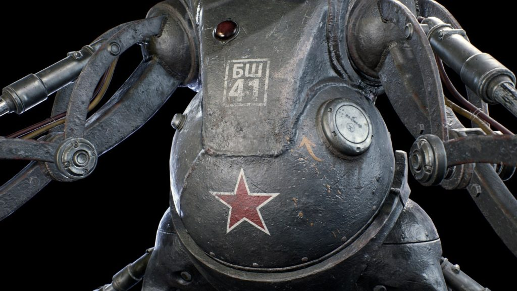 """Главный герой П-3 и робот """"Беляш"""" - в сеть слили пак скриншотов из Atomic Heart 1"""