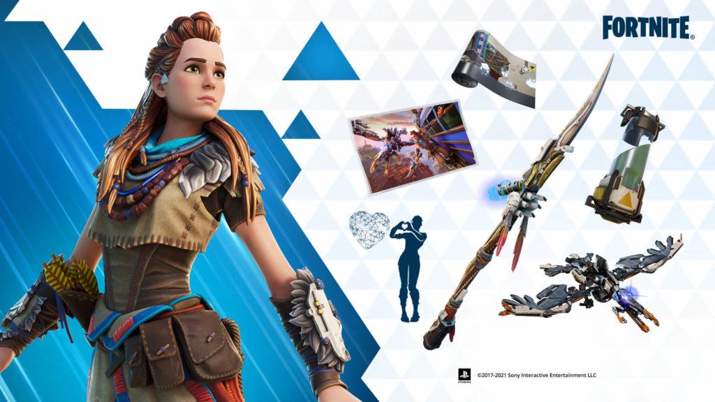 Fortnite – на этой неделе в игре появится Элой из Horizon Zero Dawn 1