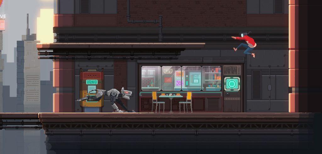Moon Samurai - экшен-приключение в сеттинге киберпанка выйдет на Nintendo Switch 3