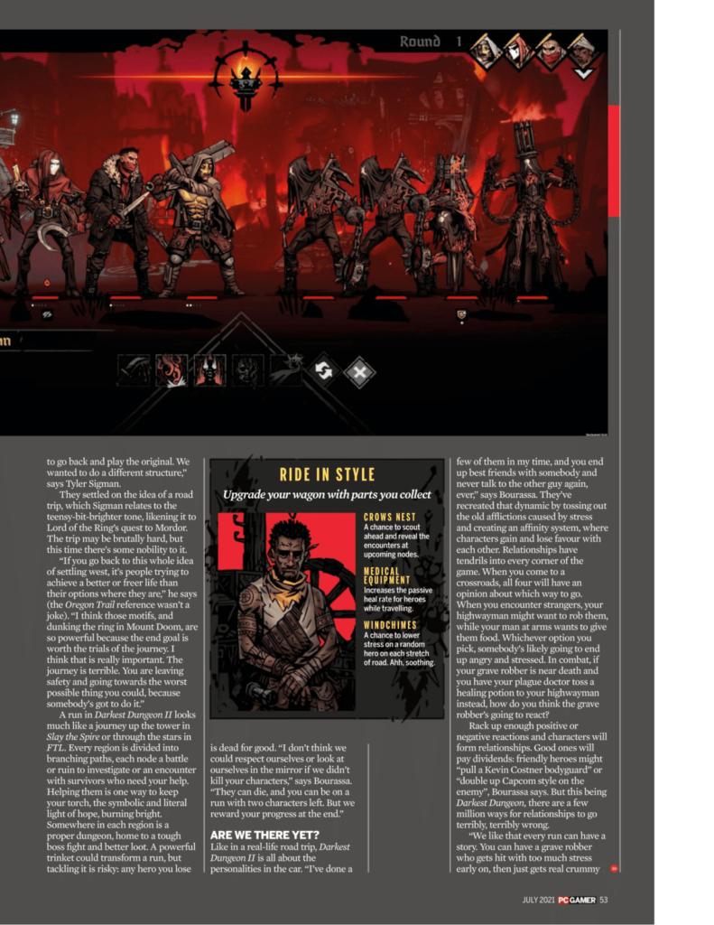 Подробности Darkest Dungeon II из нового номера PC Gamer 2